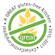 Drexelbrook is recognized as a GREAT gluten-free Kitchen!