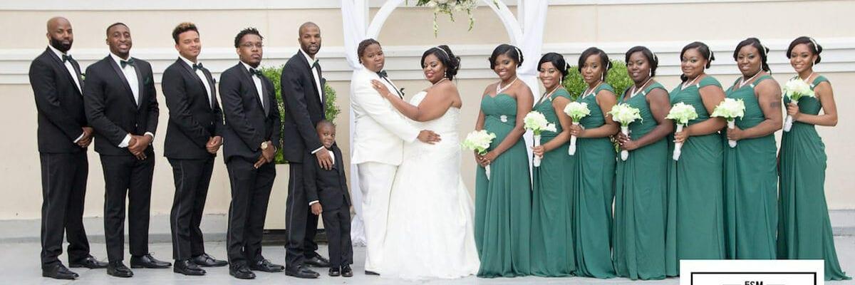 Lesbian Wedding Party Drexelbrook