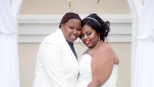 Lesbian Outdoor Drexelbrook Wedding