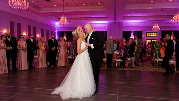 Drexelbrook Ballroom First Dance