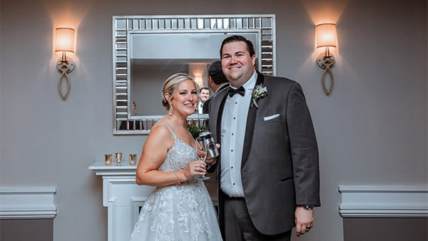 Drexelbrook Lounge Wedding Photo