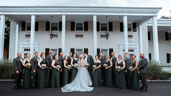Drexelbrook Wedding Party Mansion
