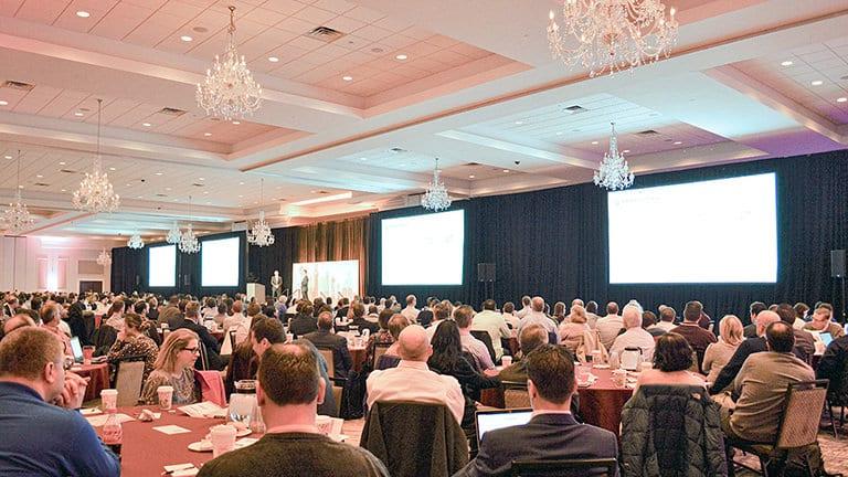 Corporate Presentation in the Grand Ballroom