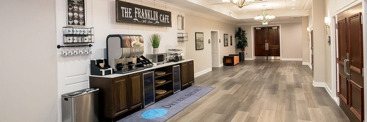 The Franklin Café in the Conference Center