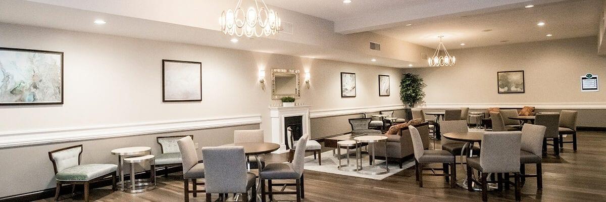 The Drexelbrook Franklin Conference Center Lounge area