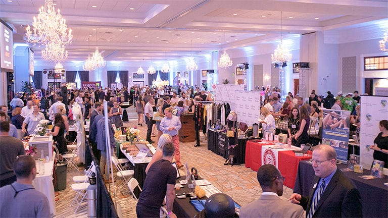 Trade Show in the Grand Ballroom at The Drexelbrook
