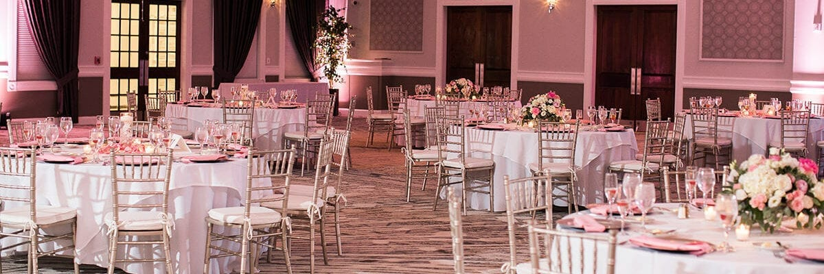 Wedding Seating in the Grand Ballroom
