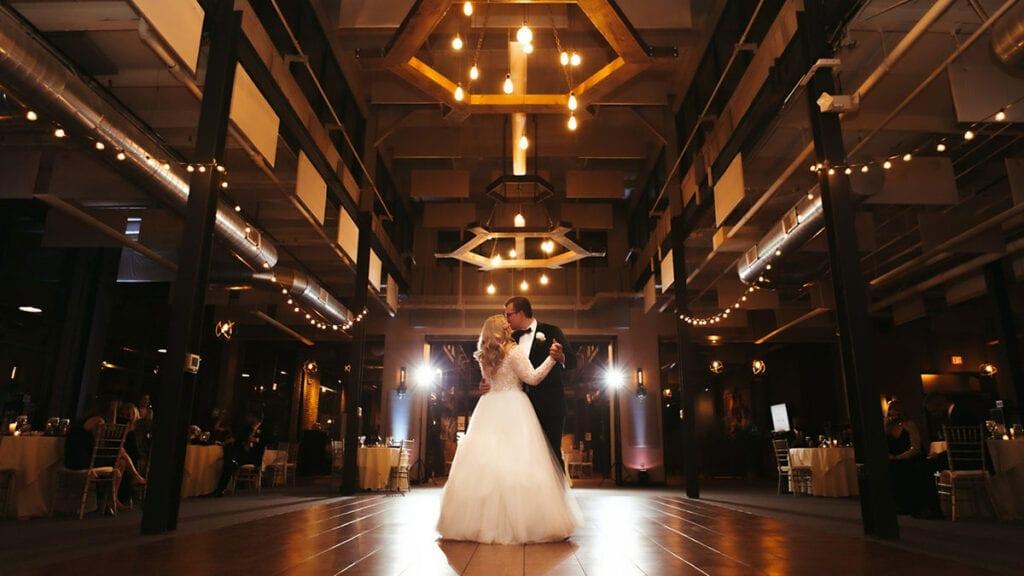 Franklin Commons Franklin Hall Wedding Dance