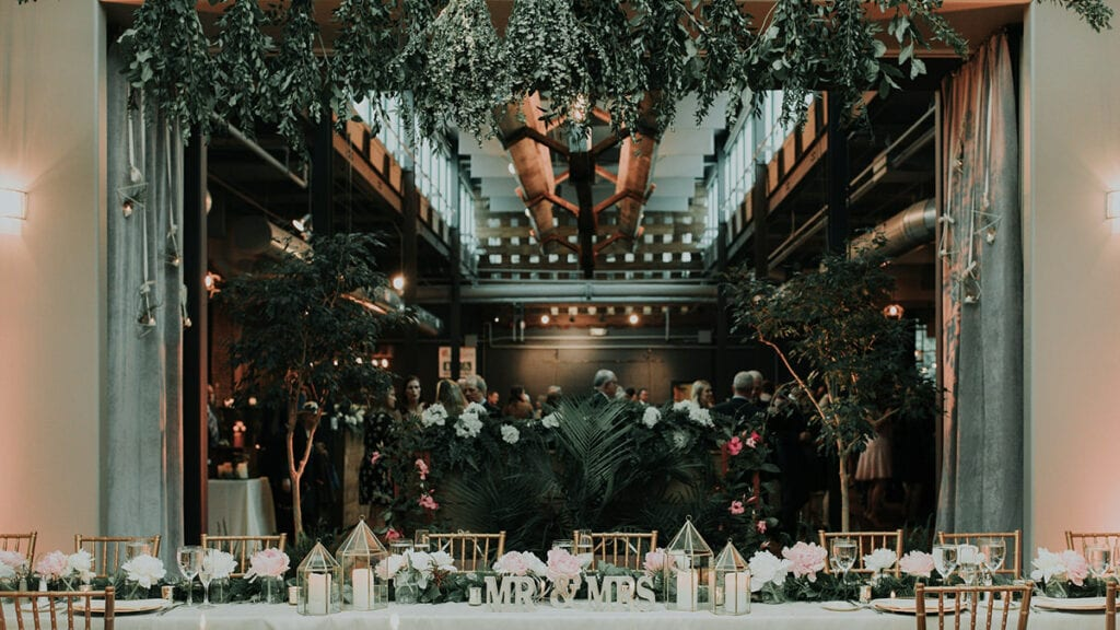 Franklin Commons Off-Premise Catering Wedding Venue