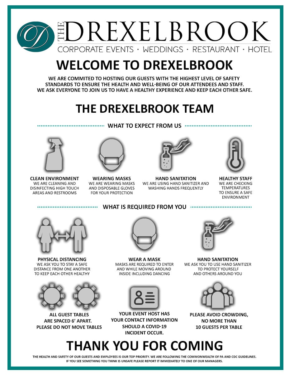 The Drexelbrook Response to COVID-19