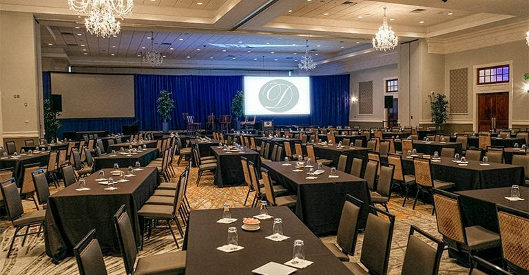 Corporate Event searing in south ballroom