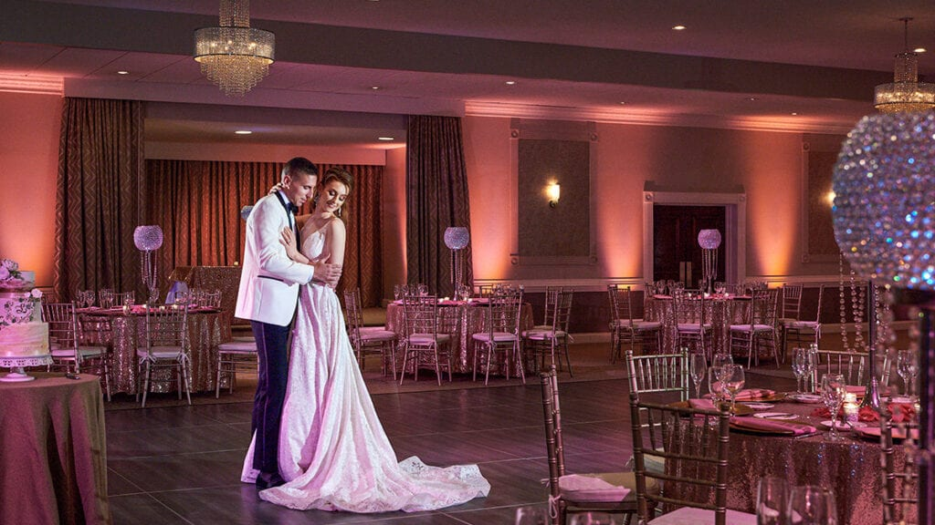 Brandywine Ballroom posing couple