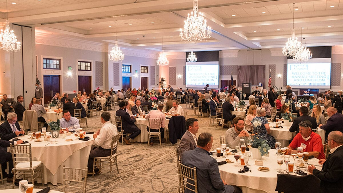BOMA annual meeting in the Drexelbrook Grand Ballroom
